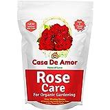 Casa De Amor Rose Care Special Organic Fertilizer for Rose Plants, Brown