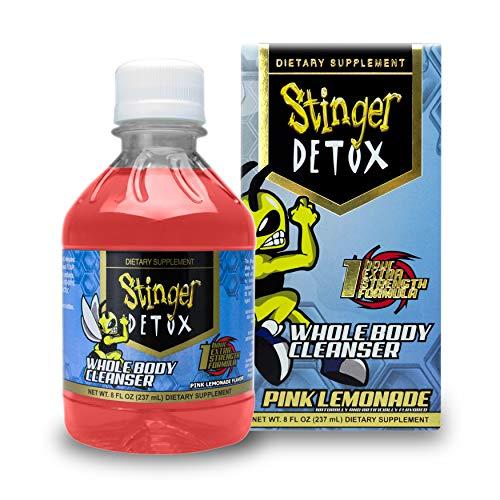 Stinger Detox Whole Body Cleanser 1 Hour Extra Strength Drink – Pink Lemonade – 8 FL OZ