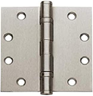 Global Door Controls CP4540BBNRP-US15 Imperial USA 4.5 x 4.0 Satin Nickel Full Mortise Ball Bearing NRP Hinge