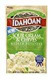 Sour Cream & Chives Mashed Potatoes. All natural 4 oz. Pouch