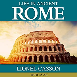Life in Ancient Rome audiobook cover art