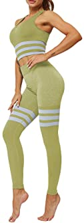 Yying Jogging Trajes Mujer de Dos Piezas Traje Deportivo Conjunto Correr Mujeres Ropa Deportiva Chaqueta Manga Larga Pantalones Dama Entrenamiento Trajes Deportivos