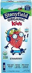 Stonyfield Organic Kids Strawberry Lowfat Yogurt 8-2 oz. Tubes