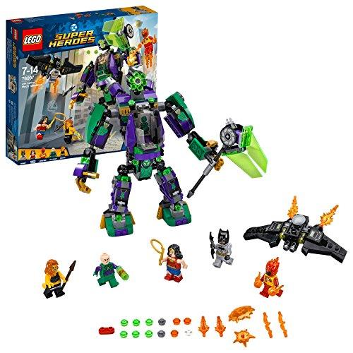 Lego Sa (FR) 76097 DC Comics Super Heroes - Jeu de construction - L'attaque en armure de Lex Luthor