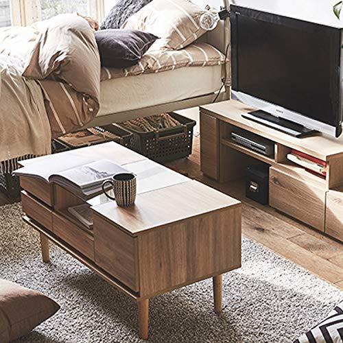 (z-c_0008945)生活雑貨ドレッサードレッサーテーブルナチュラルソファーに座って使える完成品センターテーブル