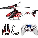Helicóptero RC, juguete de helicóptero infrarrojo, juguete RC, juguete de drone volador, para adultos(red)