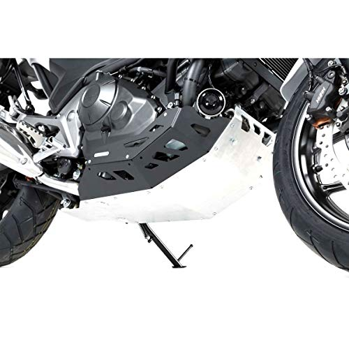 SW-Motech Skid Plate (Black/Silver) for 12-17 Honda NC700X