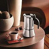 Bialetti Venus Espressokocher für induktion, Stahl, Silber, 10 Tassen - 5