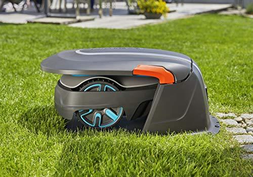 Gardena Garage für Mähroboter: Garage für Rasenmäher, optimaler Sonnen- und Regenschutz für Rasenroboter und Ladestation (15020-20) - 6