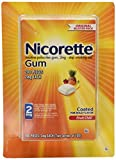 Nicorette Gum Nicotine Polacrilex Gum 2mg Coated Fruit Chill 200 Pieces
