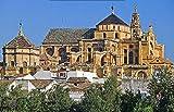 SHILIHOME Gran Mezquita de Córdoba España DIY 5D Pintura de Diamante por número Kits únicos Decoración de la Pared del hogar Cristal Rhinestone Decoración de la Pared Punto de Cruz