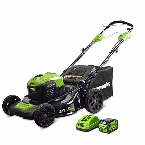 Greenworks Self-Propelled Lawn Mower