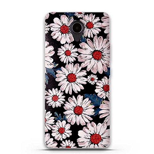 FUBAODA für Huawei Ascend Y635 Hülle, 3D Erleichterung Ästhetisch Muster TPU Case Schutzhülle Silikon Case für Huawei Ascend Y635