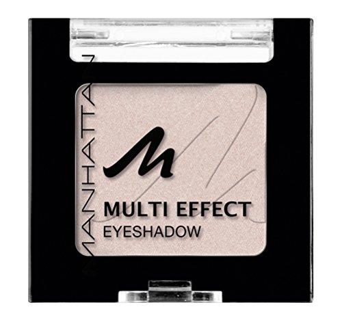 Manhattan Multi Effect Eyeshadow – Beiger, matter Lidschatten in handlicher Dose, farbintensiv und langanhaltend – Farbe Miss Charming 51D – 1 x 2g