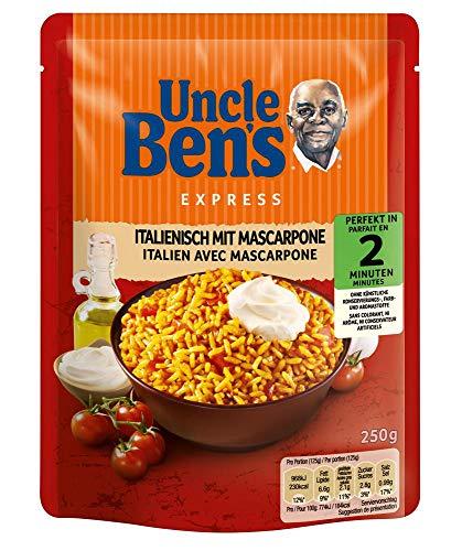 Uncle Ben's Express-Reis Italienisch - Tomate & Mascarpone, 6 Packungen...