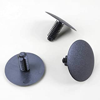 10x Spreizmutter Universal Seitenverkleidung Karosserie Ø 8,5mm Kopf 17x17mm