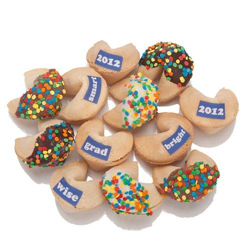 Graduation Fortune Cookies Bulk - Set of 12