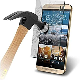HTC One M9 Tempered Glass Crystal Clear Transparent Screen Protector