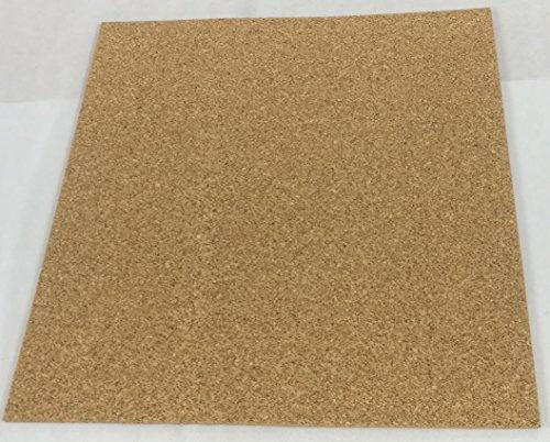 7mm Korkplatte 50 x 50cm Pinnwand Platte Dämmunterlage Elastisch Schadstofffrei Antistatisch Bastel-Unterlage für Modellbau & Weltkarte Trittschalldämmung, Wärmedämmung, Wandverkleidung