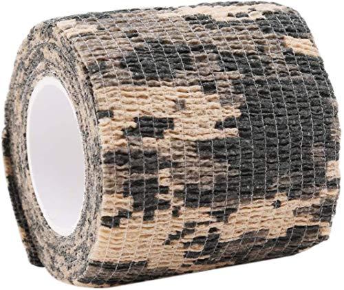 HSC-Stoffband, Haushaltsband, Klebeband, selbstklebendes, dehnbares, nicht gewebtes Outdoor-Tarnband, ACU