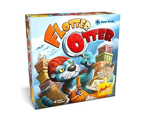 Zoch 601105132 - Flotter Otter - Ein blitzschnelles Reaktionsspiel für flinke Augen und wache Finger, ab 8 Jahren