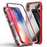iPhone11ケース 強化ガラス iPhone 11対応 アルミバンパー ガラスケース アルミ 背面透明強化……