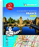 France. Atlas routier et touristique 2020. Ediz. a spirale (Michelin Road Atlases)