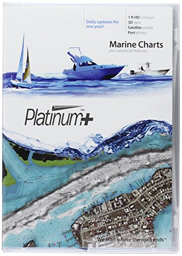 Navionics Platinum + SD 635 West Golf of Mexico Nautische Karte auf SD/Micro-SD-Karte – MSD/635P+