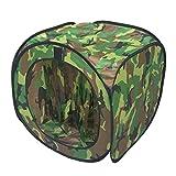 Sharplace Camouflage, Leggero, Portatile, BB, Trappola per Tenda, Trappole per Tende Pieghevoli in Nylon
