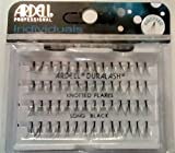 Ardell DuraLash Individual Long Flare Lashes, Black 56 ea (Pack of 3)
