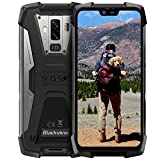 Rugged Phone Unlocked, Blackview BV9700Pro, 6GB+128GB Rugged GSM Cell Phone, 5.8' FHD Helio P70 Wireless Charging Cellphone, Bundle Android 9.0 Pie, NFC/Fingerprint Tmobile Unlocked Smart Phone