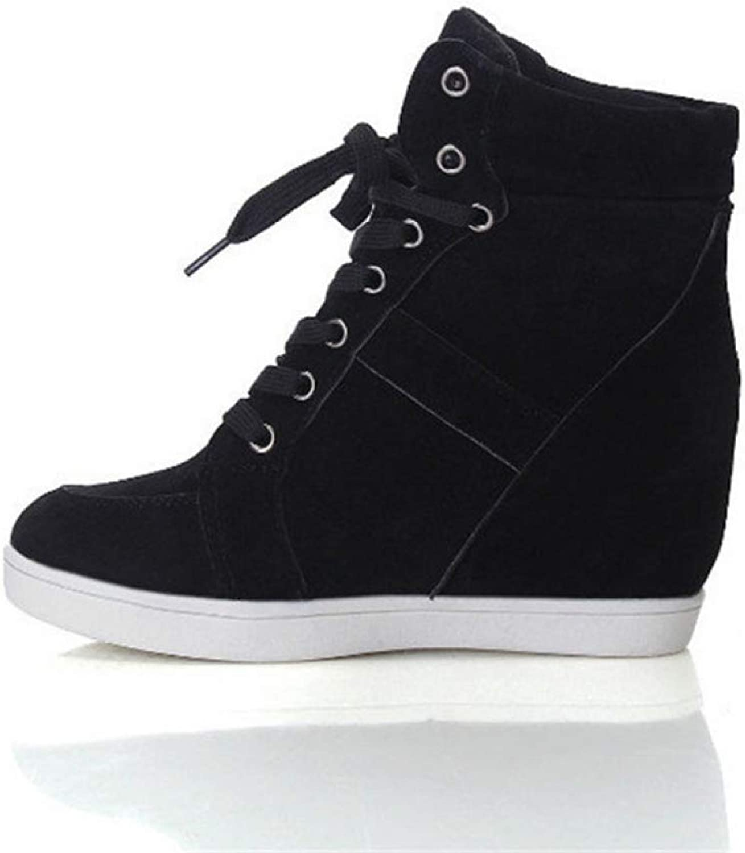 ca306ef3ae856 T-JULY Women Height Increasing Platform Sneakers Wedges shoes Woman ...