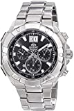 Orient Herren Chronograph Quarz Uhr mit Edelstahl Armband FTV00003B0