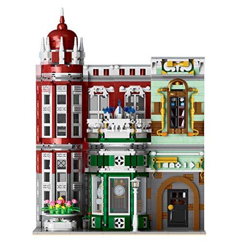 ColiCor Modelo de Construcción de Bloques con luz 3050+Pcs Galería de Colecciones Edificios Construcción Edificio de Ladrillos Conjunto de Bloques, Compatible con Lego