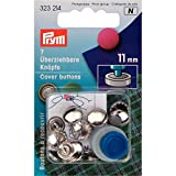 Prym 323,214 Bouton De Couverture, Metal, Map(Language_tag- FR_FR), Taille 11 mm
