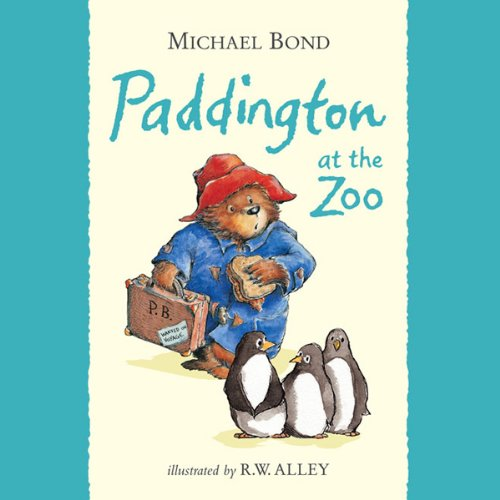Paddington at the Zoo audiobook cover art