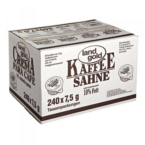Land Gold Kaffee Sahne 10% Fett 1,8kg