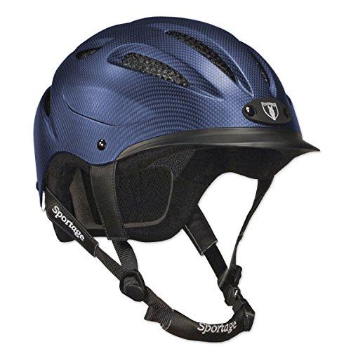TIPPERARY EQUESTRIAN Sportage Equestrian-Helmets, Medium, Navy Blue