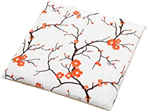 Chair Cover, Cushions Chair Pads Seat Cushion Home Embroidered Dining Chair Cushion Tatami mat Cotton Linen Office Cushion