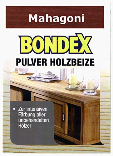 Bondex Holzbeize Pulverbeize Beutelbeize Beize auf Wasserbasis für Möbel 5er Pack - mahagoni