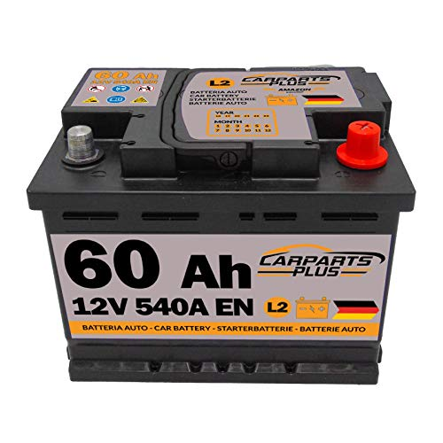 CarPlus L260CARPARTS Autobatterie, 60ah 540A