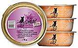 Catz finefood fillets Número 411–Pute, Pollo y Cordero en Jelly, 12Unidades (12x 85g)