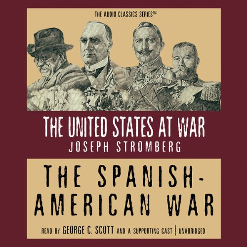 The Spanish-American War audiobook cover art