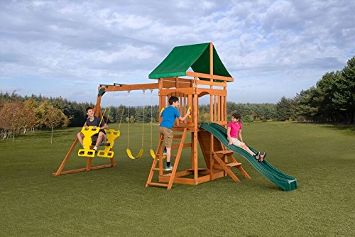 CREATIVE CEDAR DESIGNS Sky View Swingset