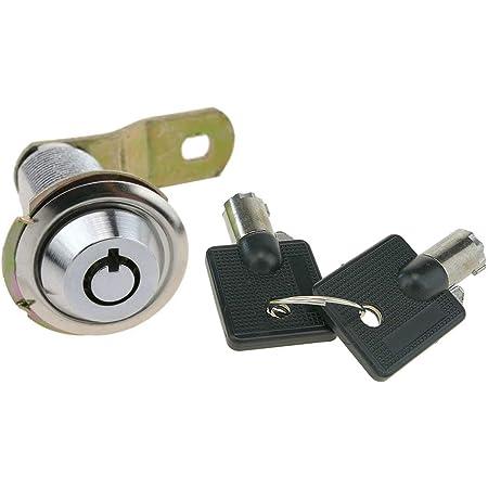 Cerradura de Leva de 37mm x M18 con Llave Plana con Interruptor PrimeMatik