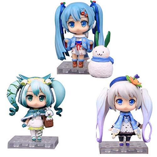 DMGK-A Anime Actionfiguren Inspiriert von Vocaloid Hatsune Miku PVC 16cm cm Modell Spielzeug Puppe Spielzeug 3 Produkte