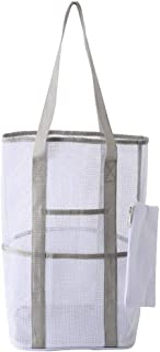 Mesh Beach Bags,Totes for Men and Women, Big Capacity Durable Toy Tote Bag for Beach, Picnic