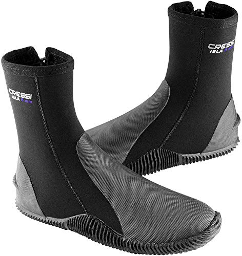 Cressi Isla Boots - Premium Neopren Füßling Für Geräteflosse - Sohle Anti-rutsch