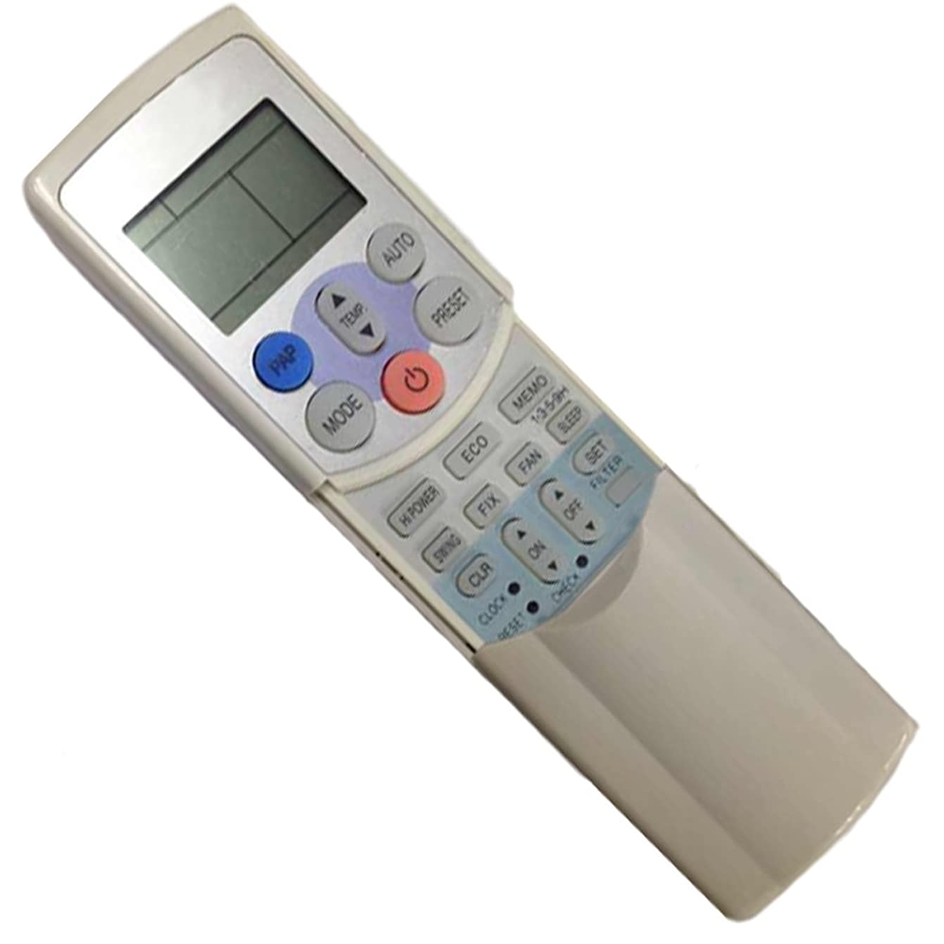 Generic Replacement Air Conditioner Remote Control for Toshiba Air Conditioner Remote Control Wc-h01je Wh-h01je Wc-h01ee Wh-h01ee Wc-h03je Wh-h03je Wc-h04je Wh-h04je Wh-h05je Wh-h06je Wh-h07je....