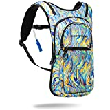 Vibedration VIP 2 Liter Hydration Pack Water Backpack for Hiking, Running, Mountain Biking, Cycling,...